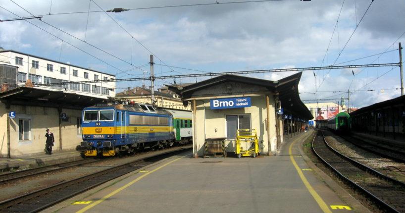 Nové nádraží Brno