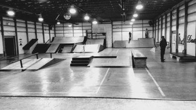 Skate park v Brně