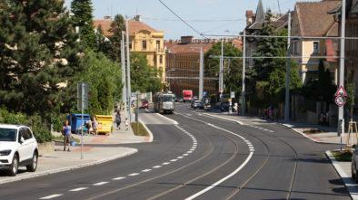 Bezbariérové chodníky v Brně