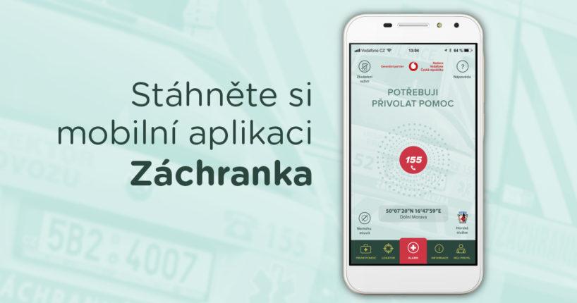 mobilní aplikace zachranka