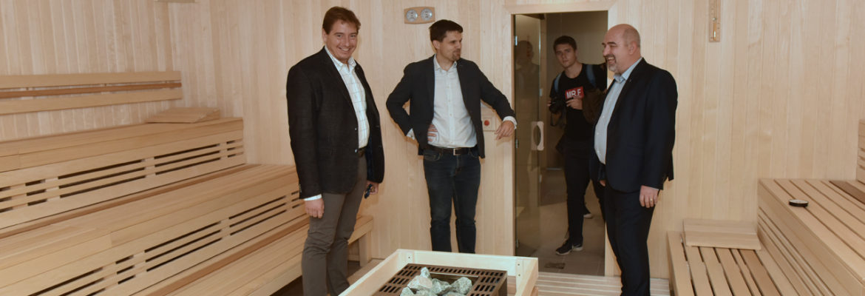 Otevření wellnes v Brně